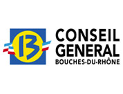 Logo CONSEIL GENERAL DES BOUCHES DU RHONE