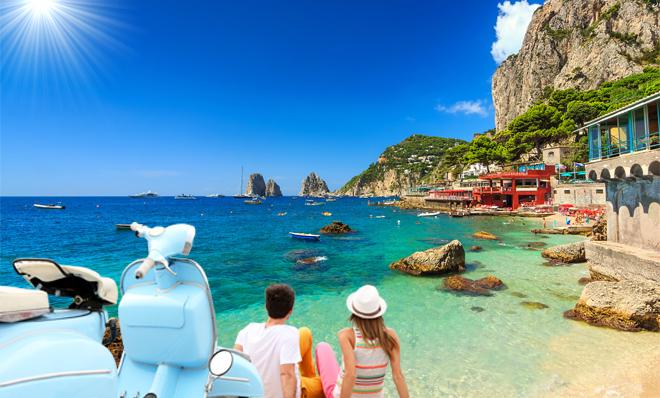 Weekend à Capri pour 610 euros par personne